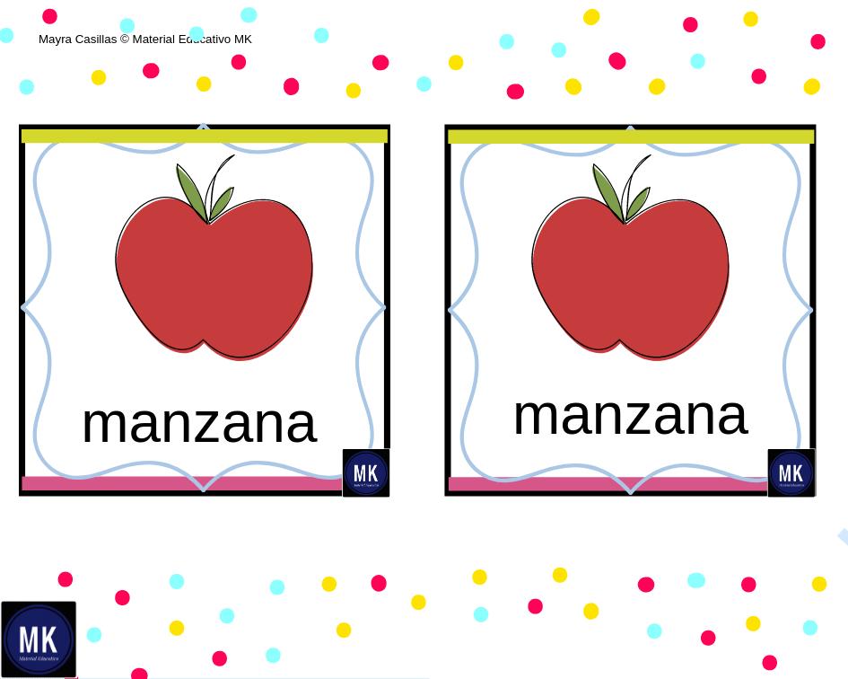 Frutas Para Recortar