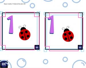 recortables memorama de números del 1 al 20 para imprimir pdf