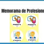 memorama de profesiones